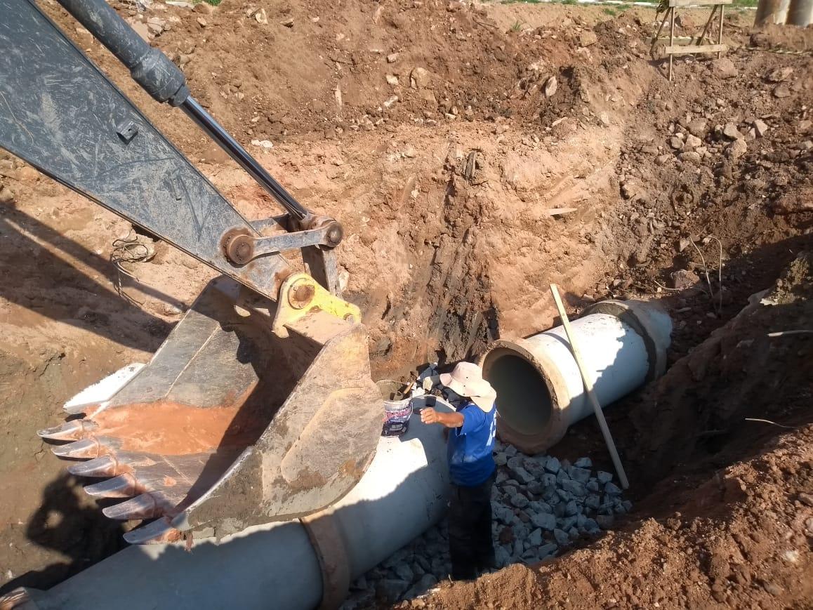 Prefeitura implanta nova rede de águas pluviais no Parque Miguel Mirizola