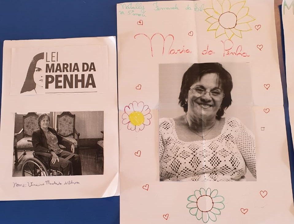 Alunos de Cotia homenageiam grandes nomes que marcam a luta feminina contra as diferenças e a violência