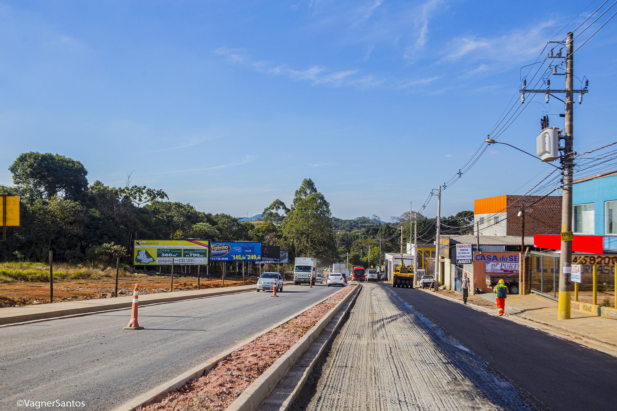 Obra de duplicação Estrada de Caucaia está 54% concluída