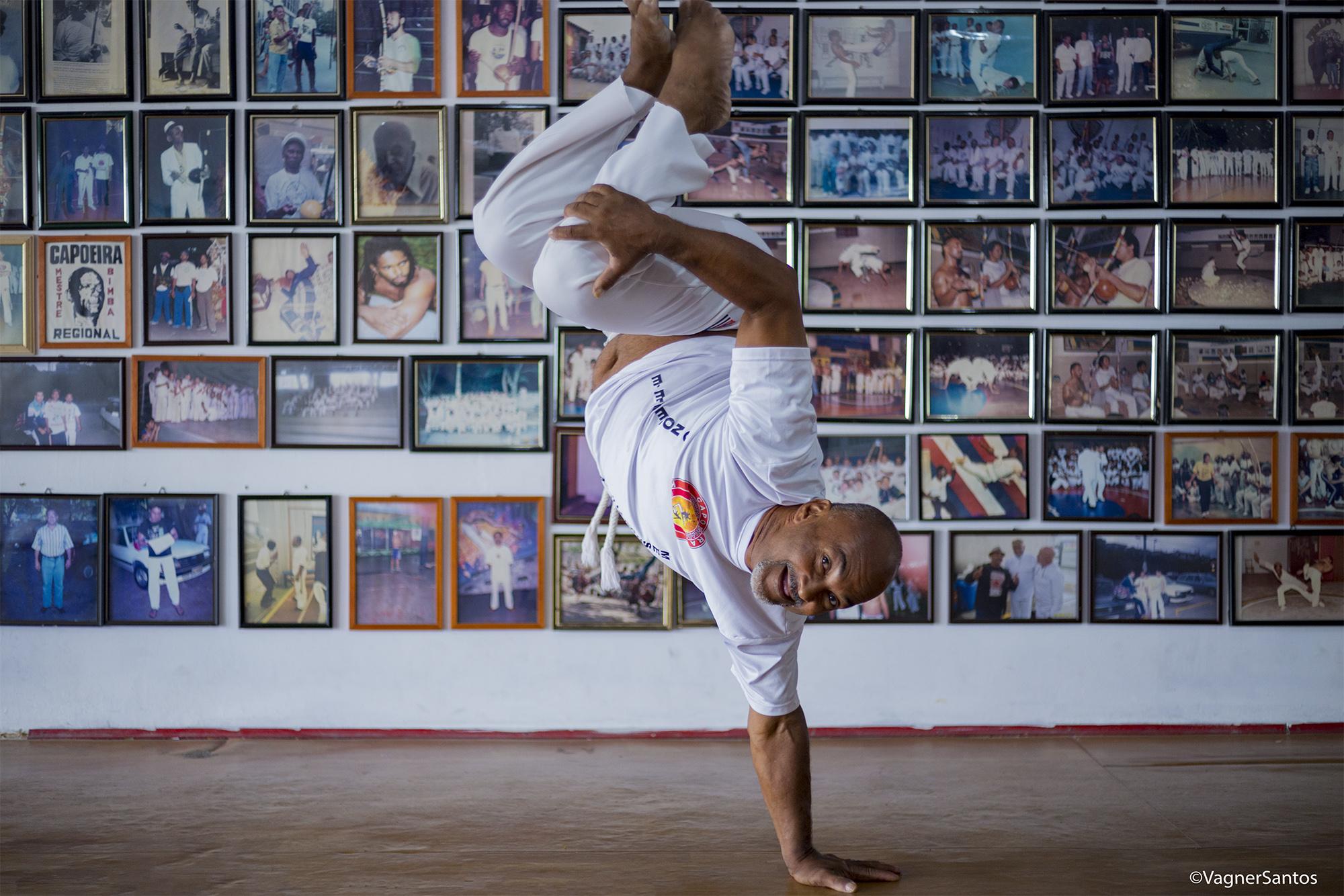 Dia 7/10 tem aula de capoeira com o mestre Jaguara, pelo projeto Vem Aprender